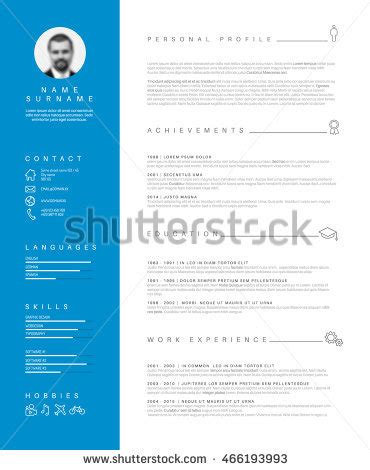 CV resume - templatesofficecom